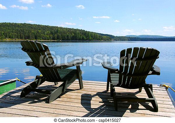 cadeiras, doca - csp0415027
