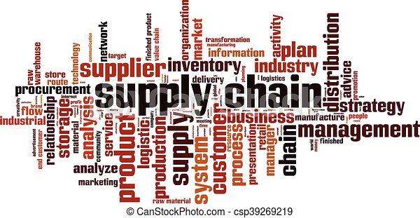 Cadena de suministros - csp39269219