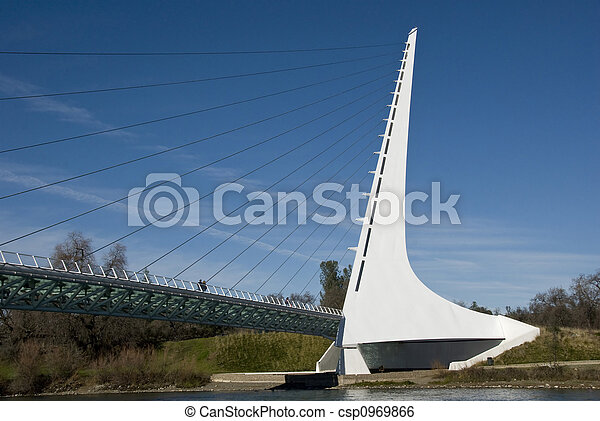 cadran solaire, pont - csp0969866