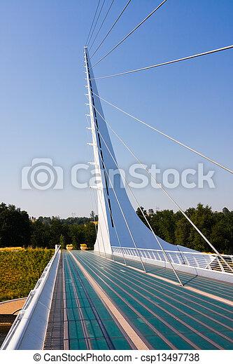 cadran solaire, pont - csp13497738