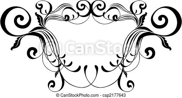 cadre, élégance - csp2177643