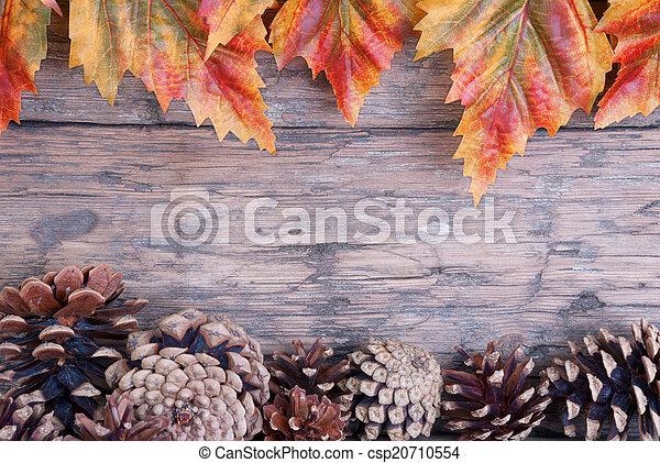 cadre, automne - csp20710554