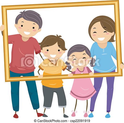 cadre, famille - csp22091919