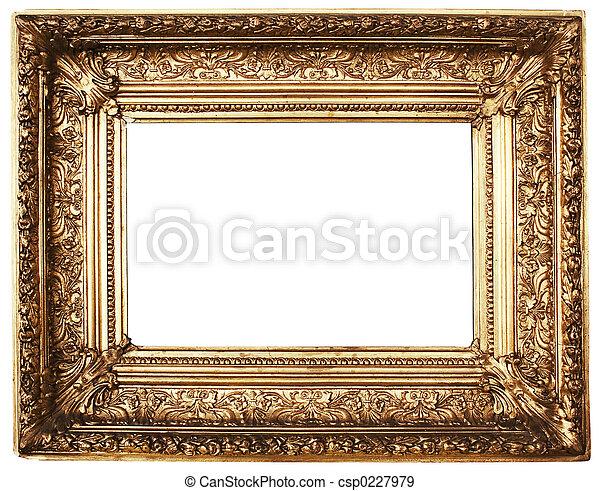 cadre graphique, (gold) - csp0227979