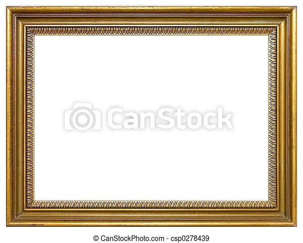 cadre graphique, vide - csp0278439