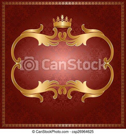cadre, royal, or - csp26964625