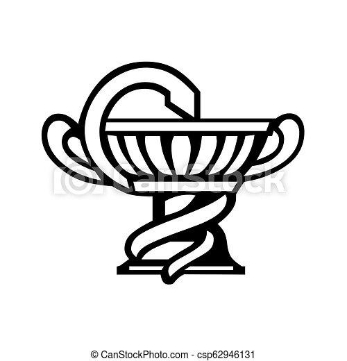 Caduceus medical symbol - csp62946131