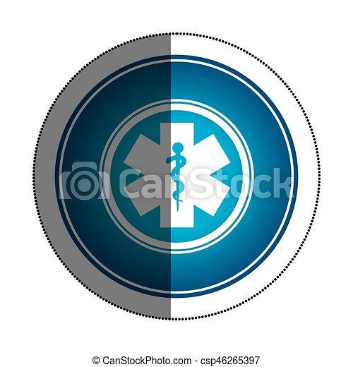 caduceus medical symbol icon - csp46265397