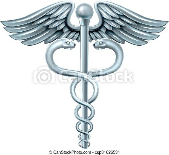 Caduceus Symbol Caduceus Medical Symbol Or Symbol For Commerce