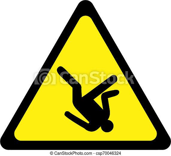 Riesgo de señal de advertencia - csp70046324