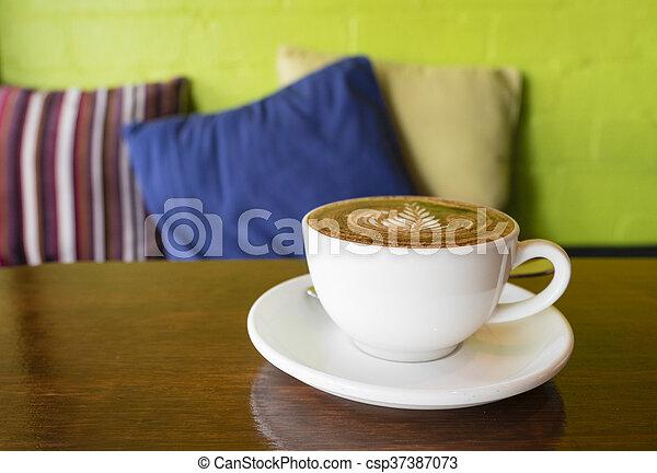 café, apprécier, café - csp37387073
