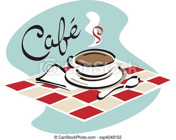 café, café - csp4249152