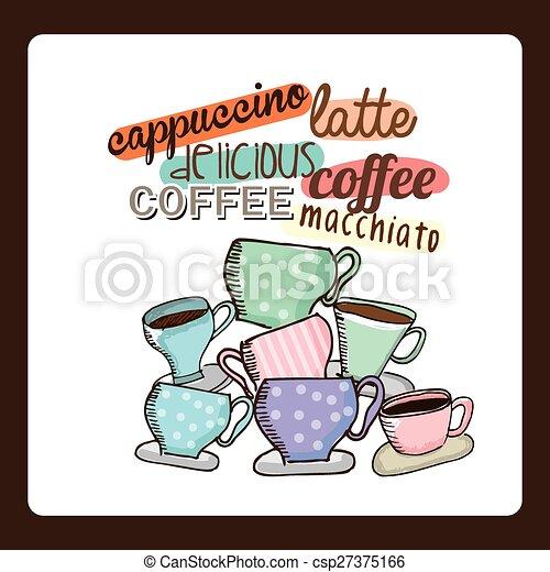 café, délicieux - csp27375166