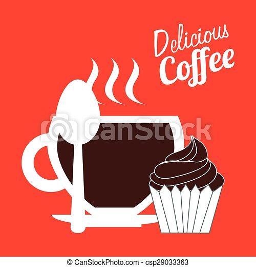 café, délicieux - csp29033363
