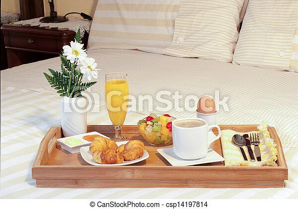 caf plateau petit d jeuner lit lait. Black Bedroom Furniture Sets. Home Design Ideas