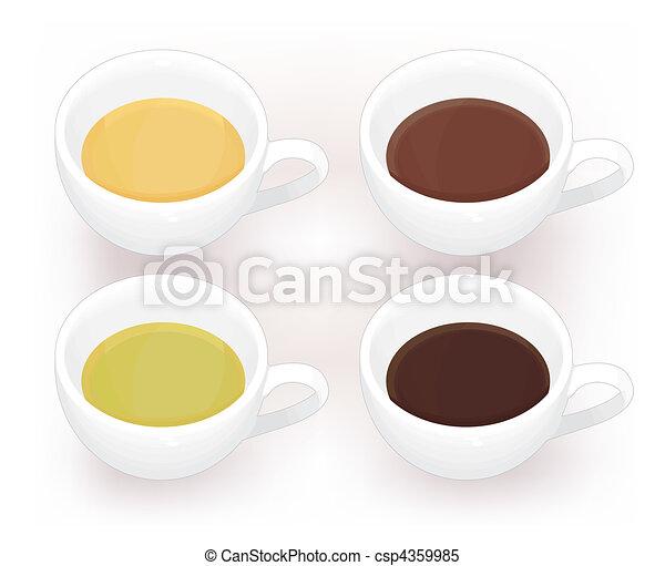 café, thé - csp4359985