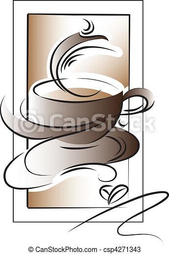 Café - csp4271343