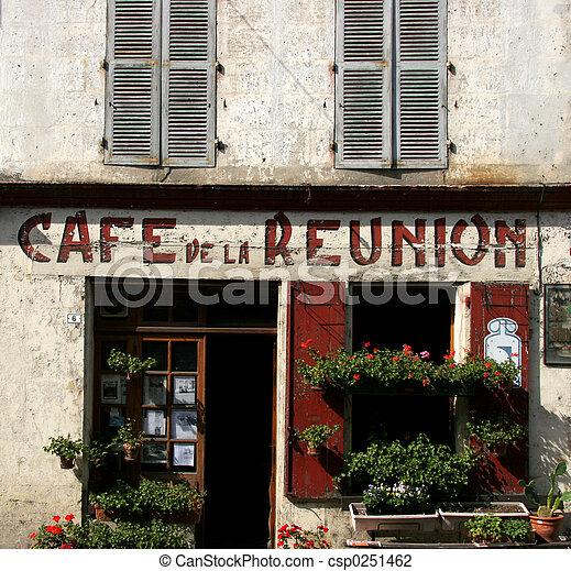 Cafe de la Reunion - csp0251462