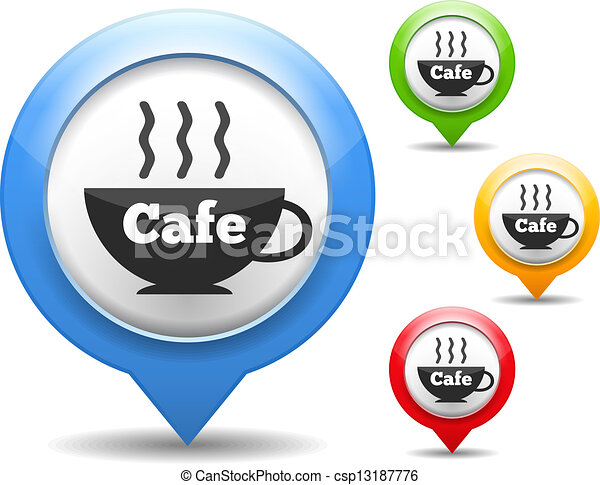 Cafe Icon - csp13187776