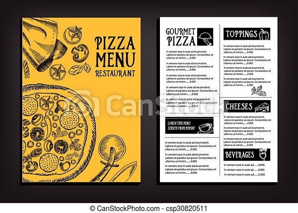 Restarunt Brochure   Cafe Menu Restaurant Brochure Food Design Template Cafe Menu