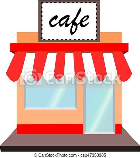 Cafe shop - csp47353385