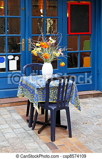 Cafe table - csp8574109