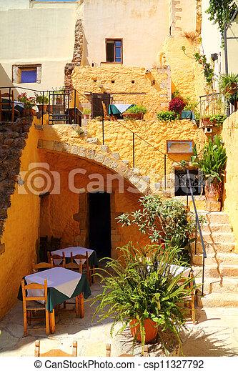cafe, taverna, restaurang - csp11327792