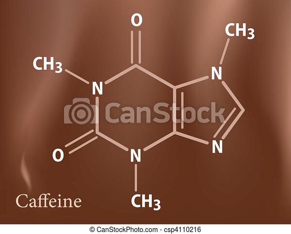 Caffeine formula - csp4110216