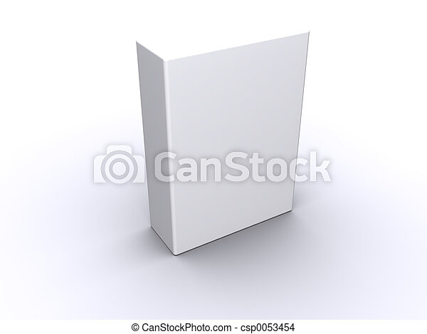 caixa, em branco - csp0053454