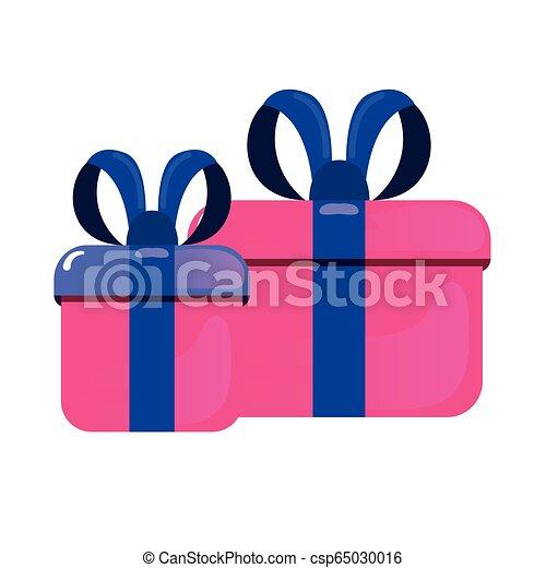 caixas, presente, fita - csp65030016