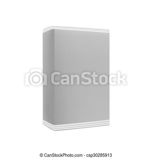 Una caja en blanco - csp30285913