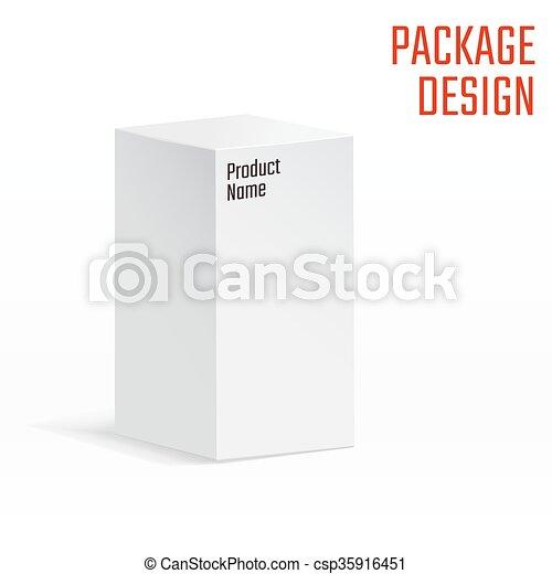 Caja blanca - csp35916451