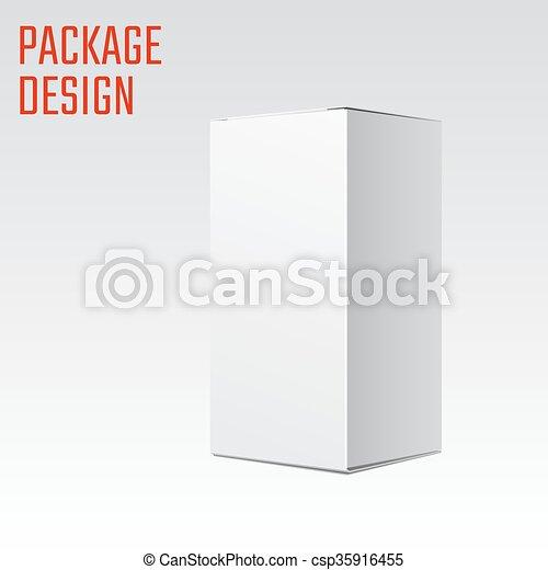 Caja blanca - csp35916455