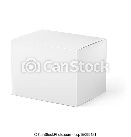Caja blanca - csp15099421