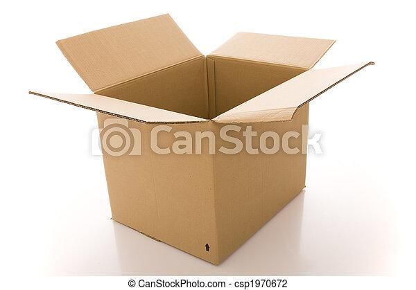 Caja de cartón - csp1970672