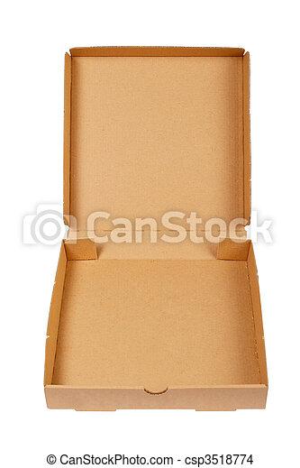 Caja de cartones de pizza - csp3518774