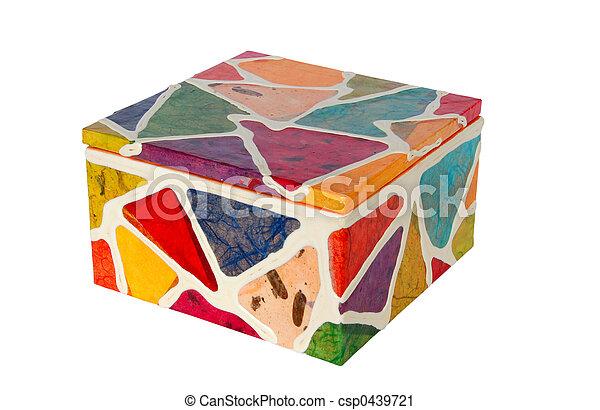 caja, colorido - csp0439721