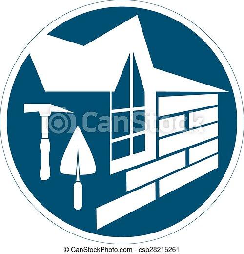 El símbolo de construcción - csp28215261