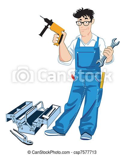 Craftsman con caja de herramientas - csp7577713