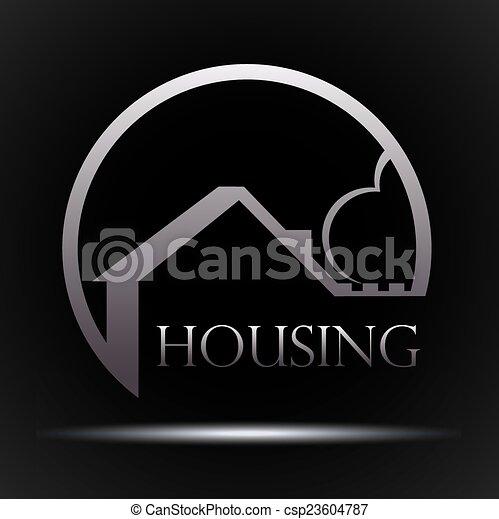 Diseño de vivienda - csp23604787
