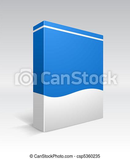 Caja de DVD en blanco - csp5360235