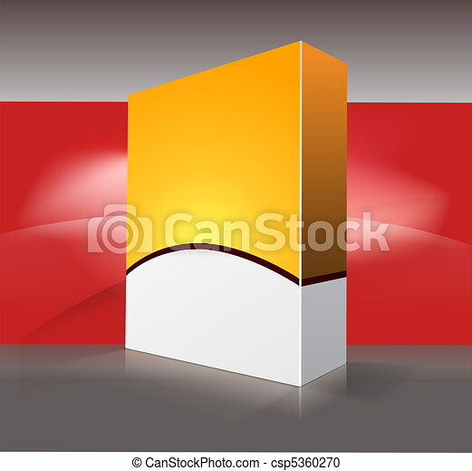 Caja de DVD en blanco - csp5360270
