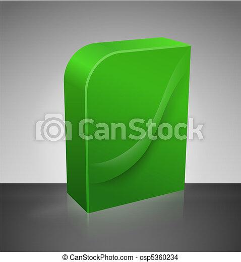 Caja de DVD en blanco - csp5360234