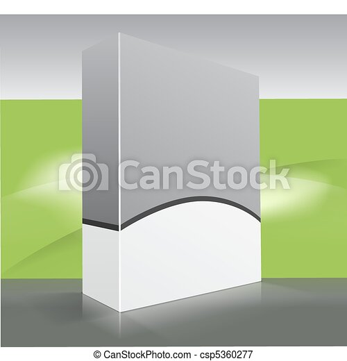 Caja de DVD en blanco - csp5360277