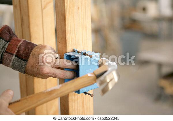 Instalar una caja eléctrica - csp0522045