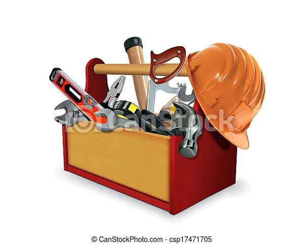 Caja de herramientas - csp17471705