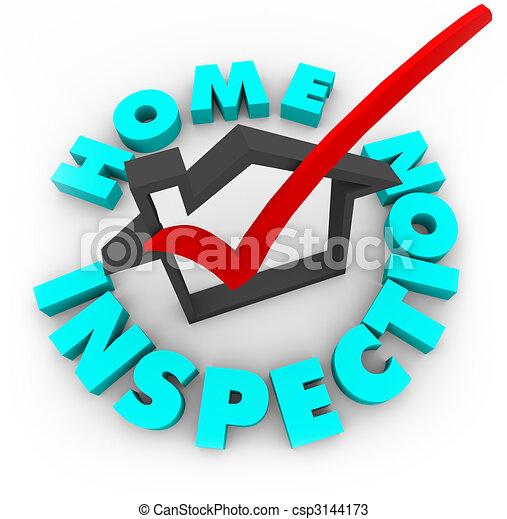 Inspección casera, caja de cheques - csp3144173