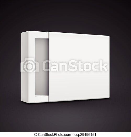 Una plantilla de papel en blanco - csp29496151