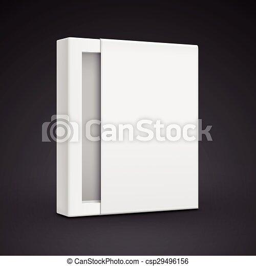 Una plantilla de papel en blanco - csp29496156