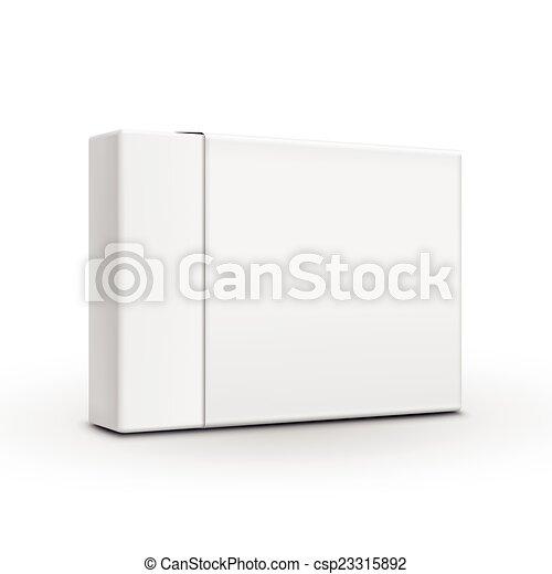 Una plantilla de papel en blanco - csp23315892